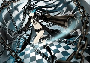 Rating: Safe Score: 33 Tags: black_rock_shooter kuroi_mato suya000 User: SciFi