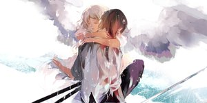 Rating: Safe Score: 62 Tags: hebi hug original rain User: FormX