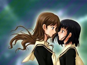 Rating: Safe Score: 8 Tags: 2girls maria-sama_ga_miteru nijou_noriko toudou_shimako User: Oyashiro-sama