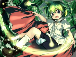 Rating: Safe Score: 23 Tags: sanoharu touhou wriggle_nightbug User: Xtea