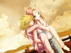 Rating: Safe Score: 3 Tags: air kamio_haruko kamio_misuzu key visualart User: Oyashiro-sama