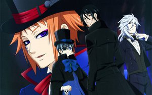 Rating: Safe Score: 17 Tags: black_hair blue_eyes brown_eyes ciel_phantomhive collar drossel_keinz fang gray_hair hat kuroshitsuji long_hair male orange_hair pluto purple_eyes sebastian_michaelis short_hair skull suit User: pantu