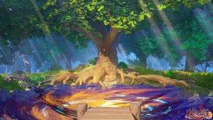 Rating: Safe Score: 27 Tags: arsenixc forbidden_fairy_tales forest grass logo nobody scenic tree water watermark User: RyuZU