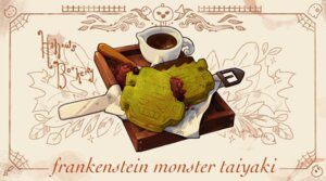 Rating: Safe Score: 10 Tags: chocolate food halloween ichiknees nobody original taiyaki third-party_edit User: otaku_emmy