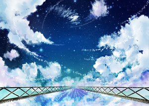 Rating: Safe Score: 117 Tags: clouds original scenic sky stars tagme User: HawthorneKitty