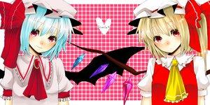 Rating: Safe Score: 9 Tags: 2girls flandre_scarlet heart remilia_scarlet touhou vampire User: w7382001