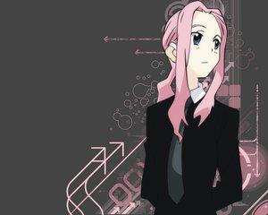 Rating: Safe Score: 12 Tags: darry gray_eyes long_hair pink_hair suit tengen_toppa_gurren_lagann tie User: Oyashiro-sama