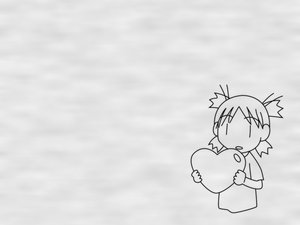 Rating: Safe Score: 3 Tags: heart koiwai_yotsuba monochrome yotsubato! User: Oyashiro-sama