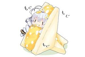Rating: Safe Score: 33 Tags: braids chibi food kizuna_akari long_hair milkpanda twintails voiceroid User: otaku_emmy