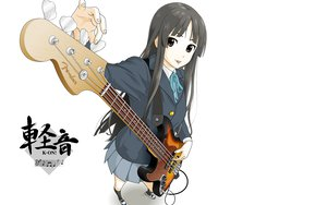 Rating: Safe Score: 19 Tags: akiyama_mio k-on! white User: HawthorneKitty