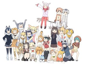 Rating: Safe Score: 40 Tags: american_beaver_(kemono_friends) animal_ears anthropomorphism black-tailed_prairie_dog_(kemono_friends) campo_flicker_(kemono_friends) catgirl common_raccoon_(kemono_friends) crested_ibis_(kemono_friends) eurasian_eagle-owl_(kemono_friends) fennec_(kemono_friends) foxgirl gray_wolf_(kemono_friends) group jaguar_(kemono_friends) kaban kasa_list kemono_friends lion_(kemono_friends) lucky_beast_(kemono_friends) moose_(kemono_friends) northern_white-faced_owl_(kemono_friends) oriental_small-clawed_otter_(kemono_friends) red_fox_(kemono_friends) reticulated_giraffe_(kemono_friends) serval silver_fox_(kemono_friends) suri_alpaca_(kemono_friends) tsuchinoko wolfgirl User: otaku_emmy