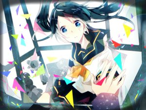Rating: Safe Score: 37 Tags: hatsune_miku seifuku tatsumi3 twintails vocaloid User: opai