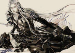 Rating: Safe Score: 25 Tags: final_fantasy final_fantasy_vii sephiroth User: HawthorneKitty