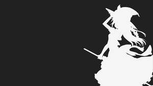 Rating: Safe Score: 102 Tags: kirisame_marisa kitazinger monochrome silhouette touhou witch User: xdemonessx