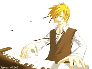 Rating: Safe Score: 4 Tags: kagamine_len vocaloid white User: HawthorneKitty