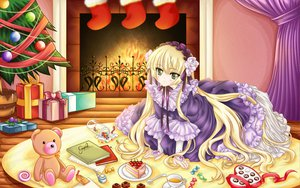 Rating: Questionable Score: 48 Tags: blonde_hair book cake candy carnelian christmas dress drink fire food gosick goth-loli green_eyes long_hair victorique_de_broix User: gnarf1975