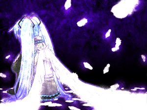 Rating: Safe Score: 22 Tags: hatsune_miku twintails vocaloid wings User: mikulover