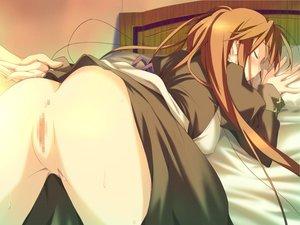 Rating: Explicit Score: 12 Tags: ass bed blush brown_hair censored favorite game_cg happy_margaret! kokonoka long_hair pussy sakura_mao User: 秀悟