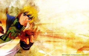 Rating: Safe Score: 13 Tags: all_male blonde_hair blue_eyes headband male namikaze_minato naruto User: Oyashiro-sama