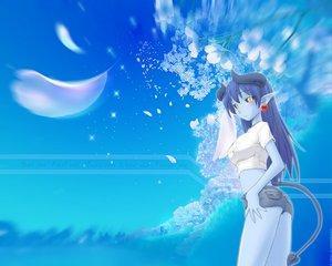 Rating: Safe Score: 20 Tags: astaroth blue futaba kagaya shinrabanshou User: Oyashiro-sama