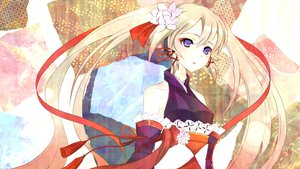 Rating: Safe Score: 50 Tags: hatsune_miku twintails vocaloid yuna_(rutera) User: HawthorneKitty
