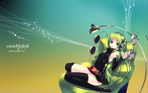 Rating: Safe Score: 67 Tags: candy food green headphones pocky refeia User: Tensa