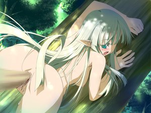 Rating: Explicit Score: 85 Tags: blood blush censored green_eyes green_hair long_hair nipples nude pointed_ears pussy_juice sex wiz_anniversary User: Oyashiro-sama