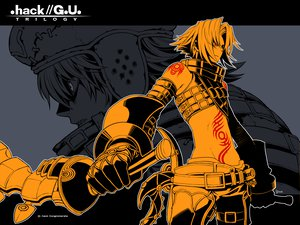 Rating: Safe Score: 9 Tags: .hack// .hack//g.u. .hack//link .hack//roots biwa haseo kite_of_the_azure_flame tri-edge User: 秀悟