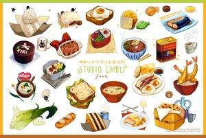 Rating: Safe Score: 18 Tags: cake candy drink food ghibli ichiknees nobody original watermark User: otaku_emmy