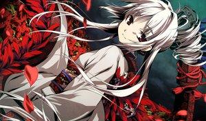 Rating: Safe Score: 159 Tags: flowers g_yuusuke game_cg gray_hair japanese_clothes kajiri_kamui_kagura red_eyes User: Wiresetc