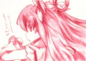 Rating: Safe Score: 12 Tags: cure_dream godees monochrome precure ribbons yes!_precure_5 yumehara_nozomi User: SciFi