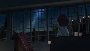 Rating: Safe Score: 12 Tags: black_hair bottle7 clouds night original scenic short_hair sky stars User: RyuZU