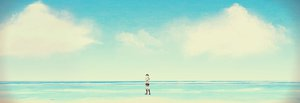 Rating: Safe Score: 36 Tags: beach clouds crying eren_jaeger shin_ha shingeki_no_kyojin sky tears water User: FormX