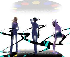 Rating: Safe Score: 35 Tags: durarara!! kida_masaomi ryuugamine_mikado sonohara_anri User: HawthorneKitty