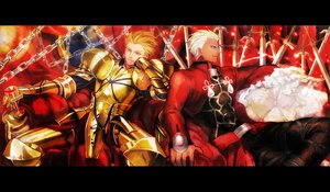 Rating: Safe Score: 8 Tags: all_male archer awa_suna fate_(series) fate/stay_night gilgamesh male User: RyuZU