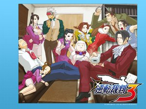 Rating: Questionable Score: 16 Tags: gyakuten_saiban phoenix_wright tagme User: 秀悟