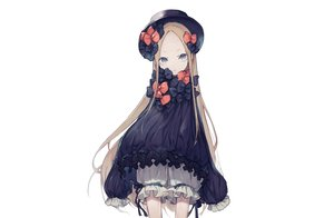 Rating: Safe Score: 55 Tags: abigail_williams_(fate/grand_order) blonde_hair bloomers blue_eyes bow cropped dress fate/grand_order fate_(series) gothic hat hoshi_rousoku loli long_hair white User: otaku_emmy