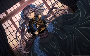 Rating: Safe Score: 51 Tags: alice_(pandora_hearts) black dress goth-loli lolita_fashion long_hair pandora_hearts User: Maboroshi
