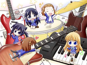 Rating: Safe Score: 18 Tags: akiyama_mio animal_ears catgirl chibi hirasawa_yui instrument k-on! kotobuki_tsumugi music nakano_azusa tail tainaka_ritsu User: HawthorneKitty