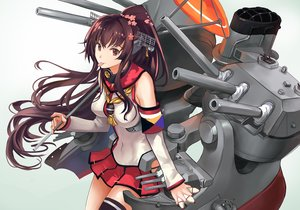 Rating: Safe Score: 46 Tags: devildogs kantai_collection yamato_(kancolle) User: FormX