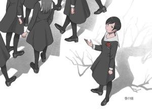 Rating: Safe Score: 17 Tags: black_eyes black_hair dress group original pantyhose seifuku shokugyo short_hair User: RyuZU