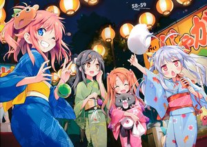 Rating: Safe Score: 48 Tags: animal black_hair blue_eyes blush bow brown_eyes eretto festival fish group ichijou_hotaru japanese_clothes koshigaya_komari koshigaya_natsumi loli long_hair mask miyauchi_renge non_non_biyori pink_hair red_eyes scan short_hair twintails wink User: RyuZU