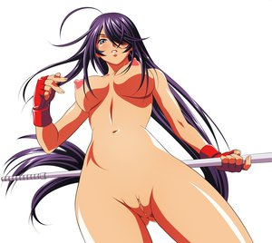 Rating: Explicit Score: 543 Tags: breasts ikkitousen kanu_unchou long_hair nipples nude purple_hair pussy uncensored weapon white User: haruko02