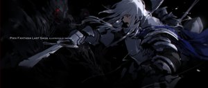 Rating: Safe Score: 38 Tags: armor black black_hair elbow_gloves gloves original pixiv_fantasia sketch swd3e2 sword watermark weapon User: RyuZU