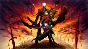 Rating: Safe Score: 61 Tags: archer fate/stay_night missnysha tohsaka_rin unlimited_blade_works watermark User: Maboroshi