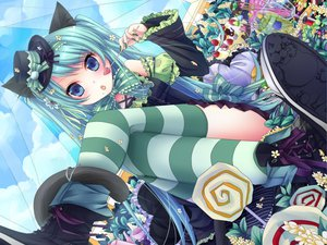 Rating: Safe Score: 122 Tags: food hat hatsune_miku photoshop vocaloid User: AliceWonderWorld