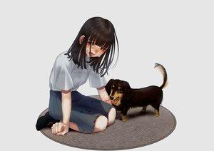 Rating: Safe Score: 28 Tags: animal blood crying dog hanjuku_otome original tears User: sadodere-chan