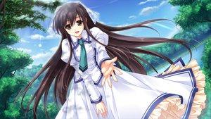 Rating: Safe Score: 105 Tags: black_hair cabbit dress game_cg long_hair michiru_(midori_no_umi) midori_no_umi saeki_hokuto User: Wiresetc