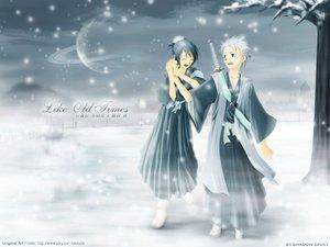 Rating: Safe Score: 17 Tags: bleach hinamori_momo hitsugaya_toushirou male snow winter User: Oyashiro-sama