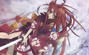 Rating: Safe Score: 43 Tags: shakugan_no_shana shana sword weapon User: Oyashiro-sama